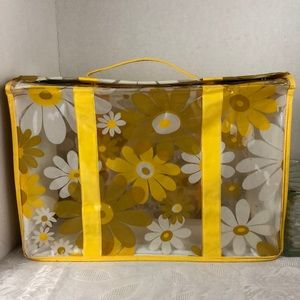 Late 60's 70's flower power tote